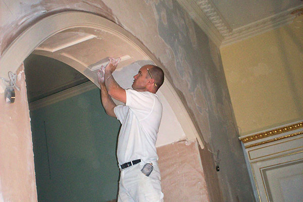 Decorative Plaster Archways match existing, repair and ...
