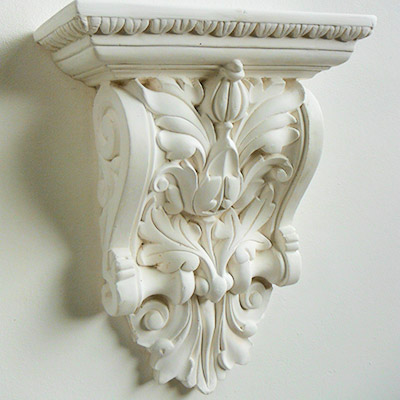 decorative plaster corbels, match existing, portsmouth, hampshire.