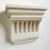 Victorian plaster corbel